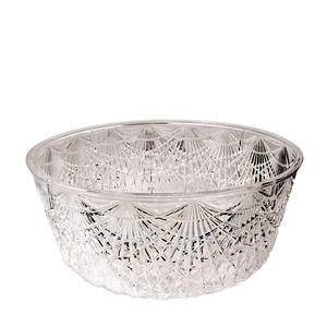 "BOWL SALAD CLEAR 11""x5""D"
