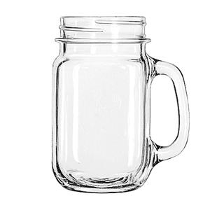 Drinking Jar Plain 16 oz - HOU-08-0880